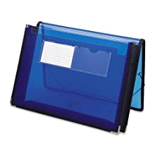 Smead Poly Ultracolor Wallet, Letter Size, 2.25 Inches Expansion, Blue (71953)