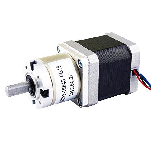 27 1 planetary gearbox high torque nema 17 stepper motor for Nema 17 stepper motor torque