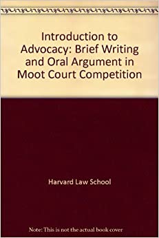 moot court brief writing and oral argument