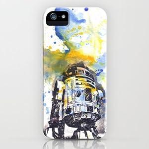Society6/ソサエティシックス iphone5 ケース スターウォーズ R2D2_from_Star_Wars