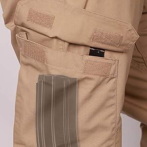 LA Police Gear Men Operator Tactical Pant with Elastic