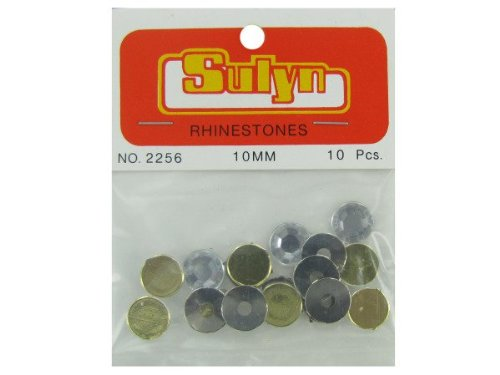Green Rhinetones, Pack Of 10