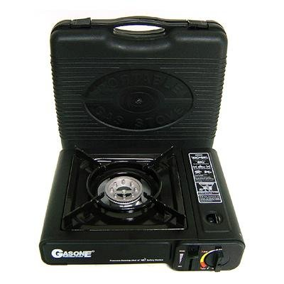 Nature's Quest Deluxe Portable Gas Butane Stove with Free Case