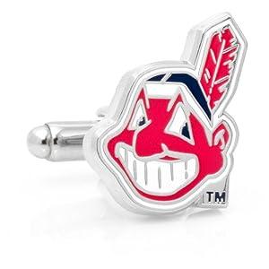 MLB Cleveland Indians Cufflinks by Cufflinks