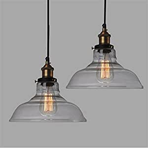 E27 28cm vintage industrial ceiling lamp shade for Kitchen spotlights amazon