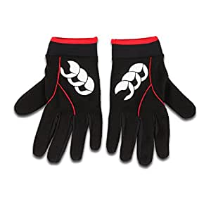 Canterbury Men's Baselayer Cold Gloves, Black- Small