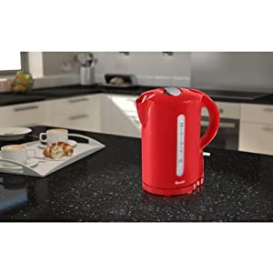 Quick Boiling Quality 2200 watts Electric Jug Kettle, 1.7 Litre,Red