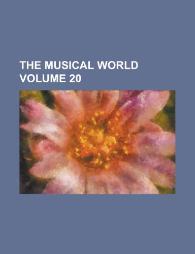 The Musical World Volume 20