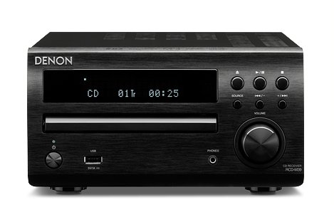 Denon RCD-M39DAB Compact HiFi - Black. With Bluetooth Upgrade.