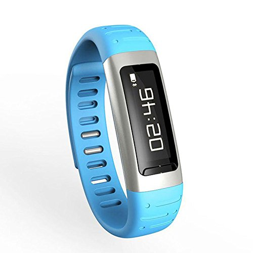 Bessky(Tm) Bluetooth Watch,Bracelet Waterproof Support Wifi Hotspots Smart Wrist Watch (Blue)