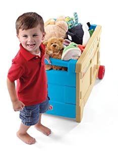 Step2 Lift and Roll Toy Box by Step2