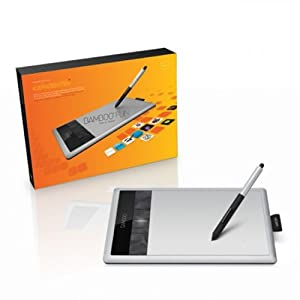 Wacom Bamboo Fun Pen & Touch Small (3. Generation) - Grafiktablett mit Stift & Multitouch