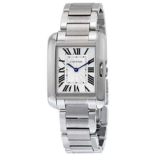 Cartier Women's Steel Bracelet & Case Automatic Silver-Tone Dial Analog Watch W5310044