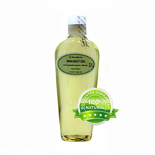 Walnut Oil Organic Cold Pressed 8 Oz