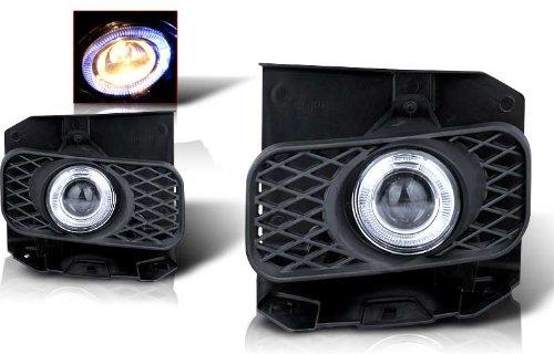 99-02 Ford Expedition (Xl,Xlt Lariat Model W/O Stx Ed) Halo Projector Fog Light - Clear