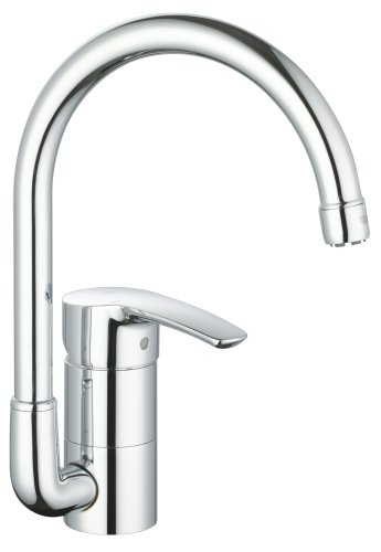 Grohe 33 986 001 eurostyle kitchen faucet starlight chrome internal wooden doors discount prices - Grohe kitchen faucets amazon ...