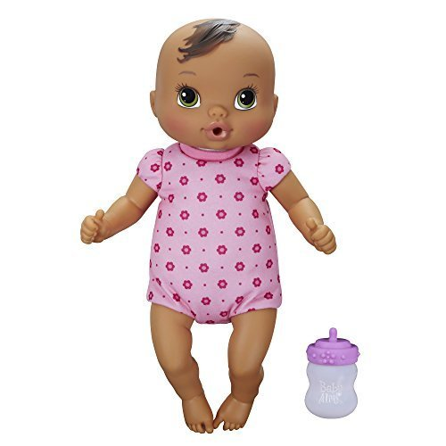 Baby Alive Luv 'n Snuggle Baby Doll Brunette by Hasbro jetzt bestellen