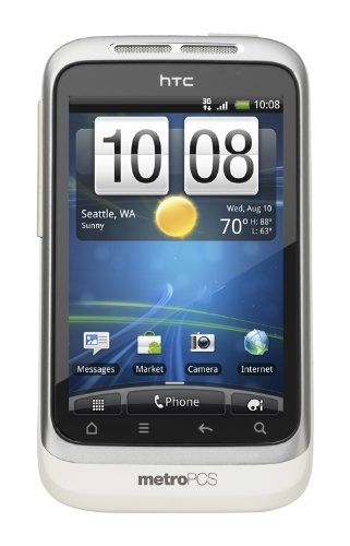 HTC Wildfire S Prepaid Android Phone (MetroPCS)