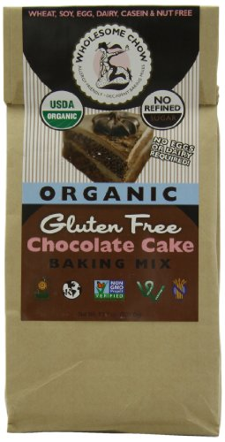 Wholesome Chow Organic Gluten Free Cake Mix, Chocolate, 11.7 Ounce (Organic Muffin Mix compare prices)