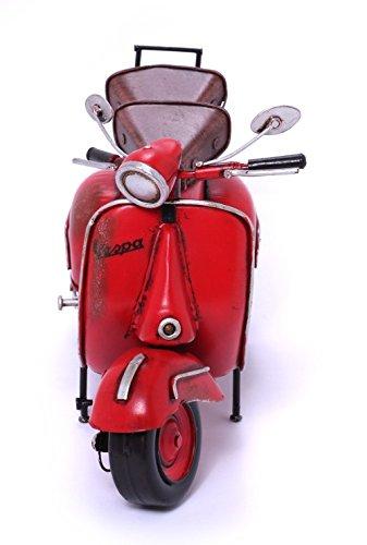 Model Scooter - Italian, red - Retro Tin Model