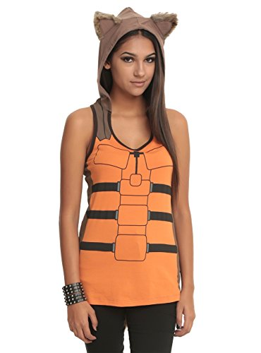 Marvel Her Universe Guardians Of The Galaxy Rocket Raccoon Costume Tank Top