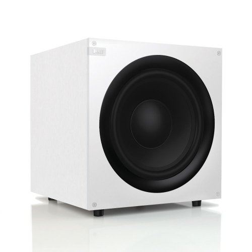 Kef Q400Wh Front Firing Powerful Subwoofer - White (Single)