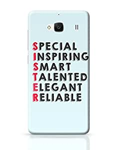 PosterGuy Redmi 2 Case Cover - Sister Abbreviation | Designed by: Pooja Bindal