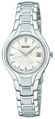Seiko Women's SXDA33 Dress Silver-Tone Watch