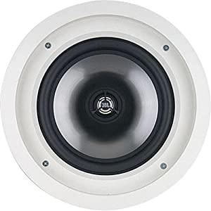 JBL SP8CII 2-Way, Round 8-Inch In-Ceiling Speaker with Swivel Mount Tweeter (Pair)