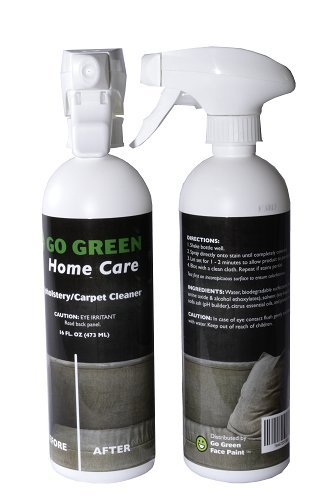 Upholstery Carpet Cleaner The Best Organic 3 In 1 Cleans Eliminates Odor And Protects