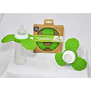 TipMeNot Baby Bottle Learning Tool, Great Teether, No Spilled Milk, No Bottle Propping, No Pacifier, Newborn Infant to Toddler, Tip Me Not Shower Gift from TipMeNot, LLC