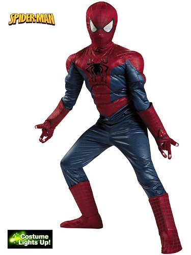 Disguise Marvel The Amazing Spider-Man 2 Movie Spider-Man Prestige Boys Costume