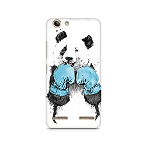 Mobicture Panda Boxer Premium Printed Case For Lenovo K5 Plus