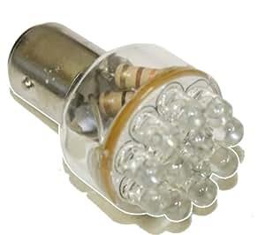 Aerzetix: Ampoule 24V P21/5W à 12LED - C1706