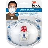 3M Chemical Odor Valved Respirator, 2-Pack