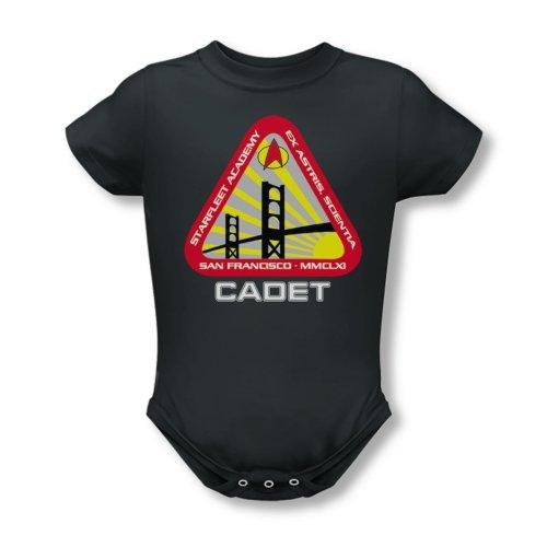 Star Trek Starfleet Academy Cadet Creeper Romper Snapsuit Size: 0-6 Months front-1059259