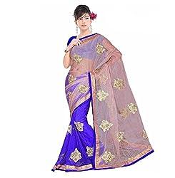 Krishna Emporia Women's Net Bollywood Saree