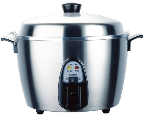 Tatung Tac-11Kn 11 Cup Stainless Steel Rice Cooker, Garden, Lawn, Maintenance