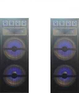 Complete LED Light Professional DJ Software and Loudspeaker Equipment Bundle Free DJ MUSIC!!!!