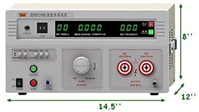 220v 2671am Puncture Withstand Hi-pot 5/10kv Tester