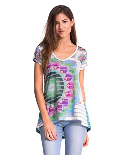 Desigual T-Shirt Manica Corta Psicodelic