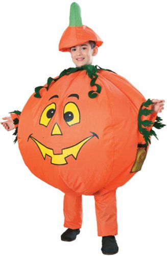 Inflatable Pumpkin Costume - Child Std.