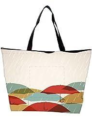 Snoogg Abstract Rainy Season Background Waterproof Bag Made Of High Strength Nylon - B01I1KI4BM