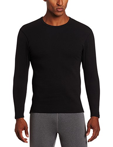 Duofold Men's Heavy Weight Double Layer Thermal Shirt, Black, Medium (Insulation Underwear compare prices)