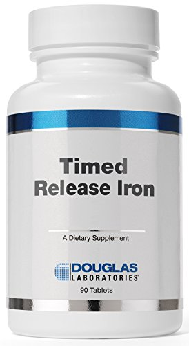 Douglas Laboratories® - Timed Released Iron - Helps Support Anemia, Lethargy, Tiredness, Red Blood Cell Production and Oxygenation* - 90 Tablets (Douglas Laboratories Iron compare prices)