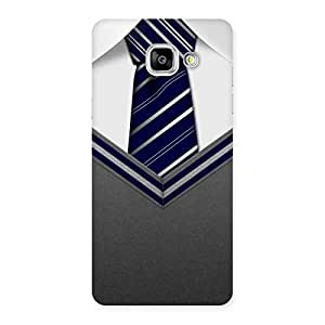 Gorgeous Grey Uniform Back Case Cover for Galaxy A5 2016