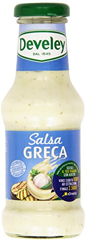 Develey - Salsa Greca, senza aggiunta di conservanti, senza glutine - 250 ml