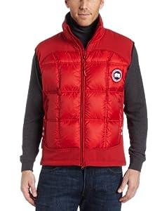 Canada Goose Men's Hybridge Vest,Red,S