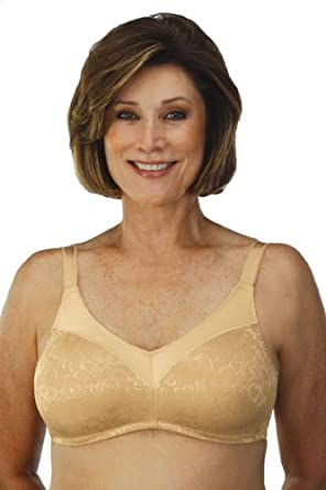 Classique Seamless Support Post-Mastectomy (Pocket) Bra -- #717 (34DD)