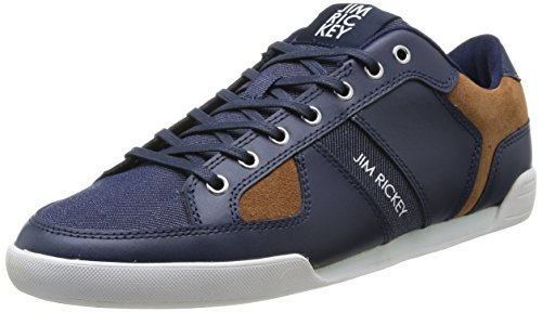 Jim Rickey  Asphalt,  Sneaker uomo Blu Bleu (Raw Denim) 40